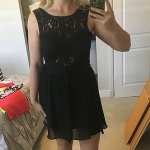 BCBG Black Sleeveless Dress